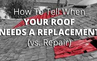 How To Tell When Your Roof Needs A Replacement (vs. Repair)