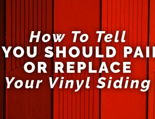 How To Tell If You Should Paint Or Replace Your Vinyl Siding